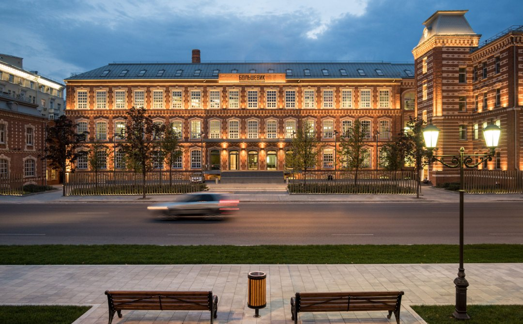 VimpelCom to move its head office to John McAslan's Bolshevik Factory, Moscow
