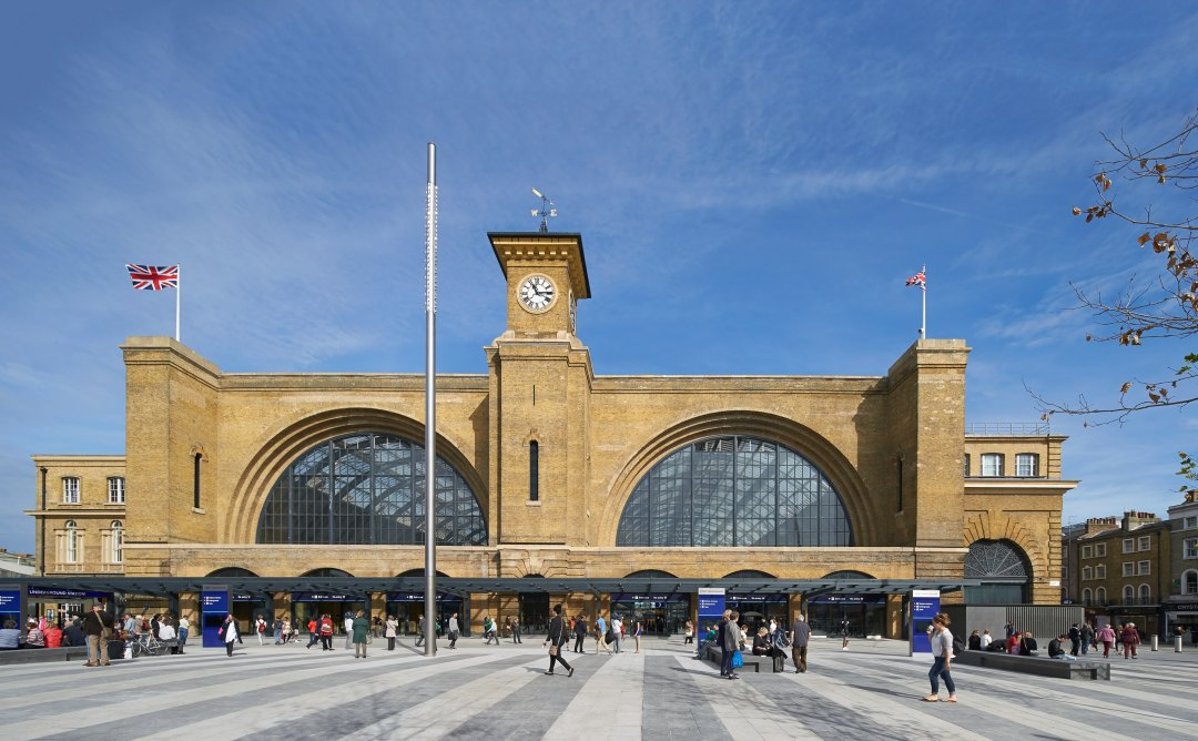 King's Cross ranked Best Railway Station in the UK