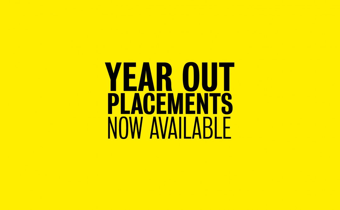 Year Out Placements Now Available