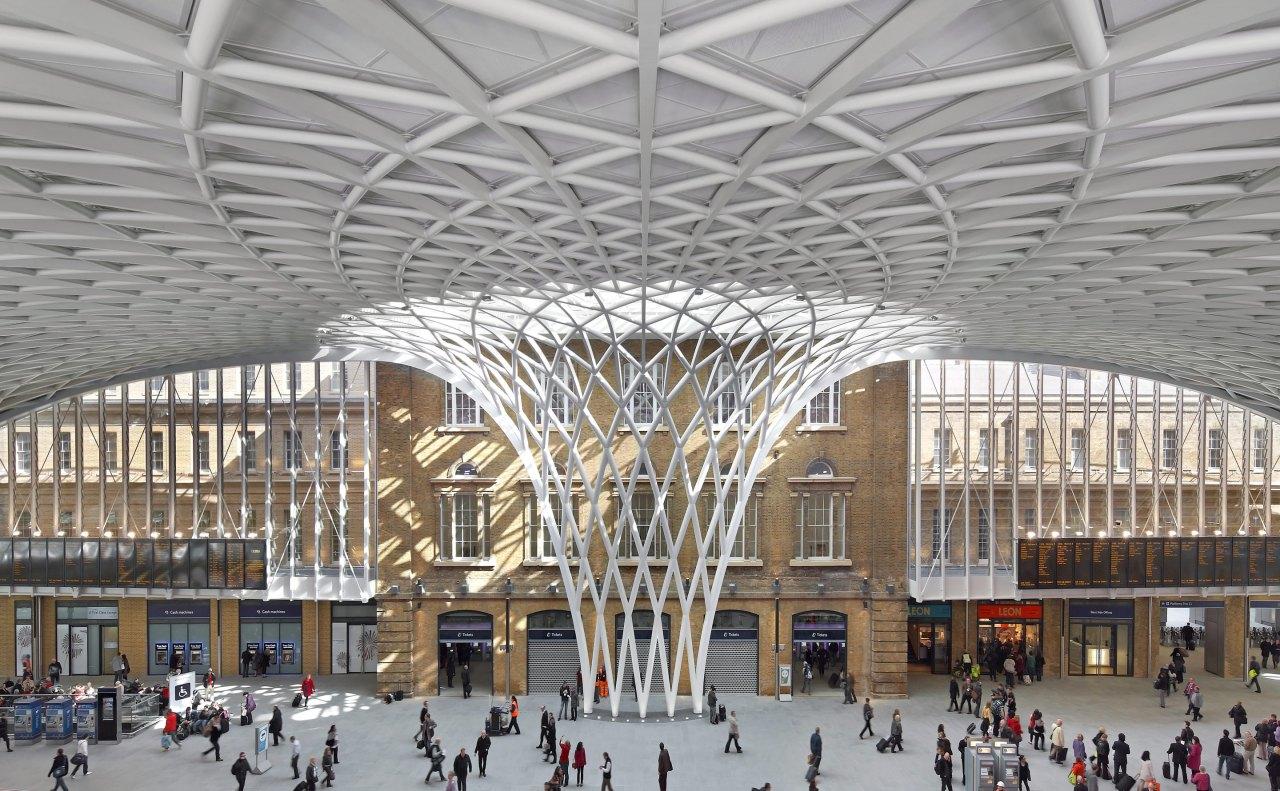 John McAslan + Partners. King's Cross Station.