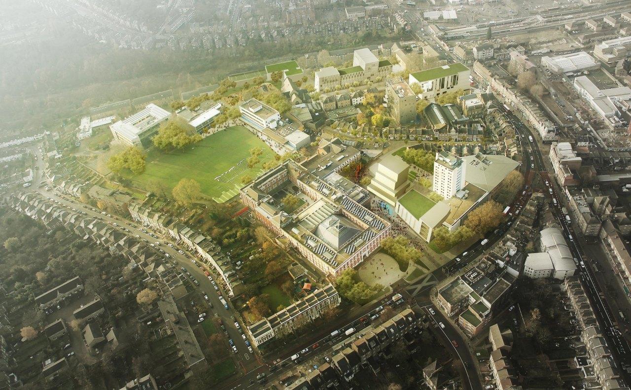 John McAslan + Partners. Goldsmiths College Masterplan.