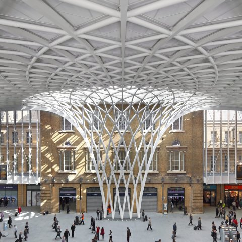 John McAslan + Partners. King's Cross Station.