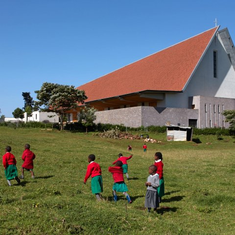John McAslan + Partners. Sacred Heart Cathedral of Kericho.