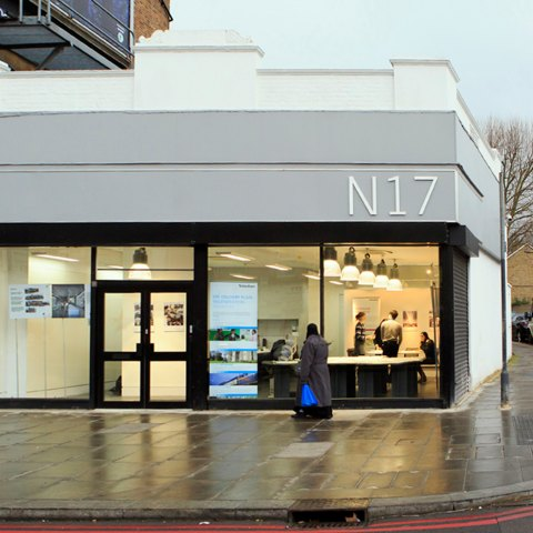 John McAslan + Partners. N17 Design Studio.