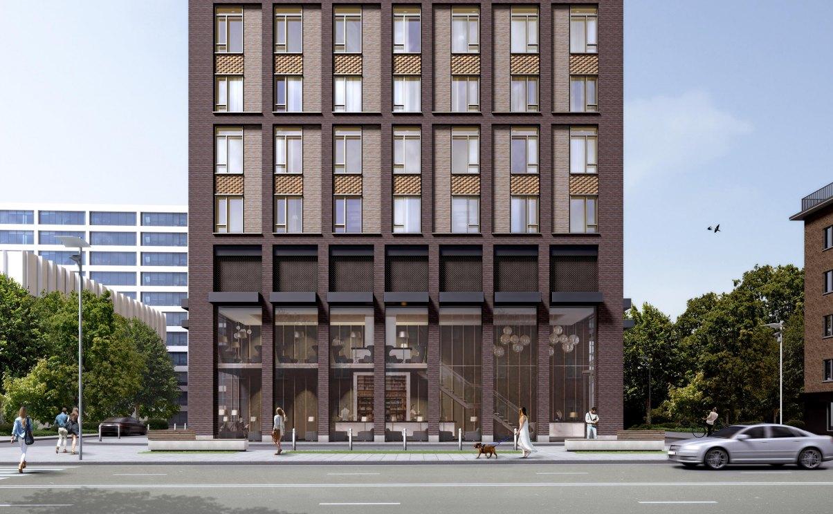 John McAslan + Partners. Presnensky Val Apartments.