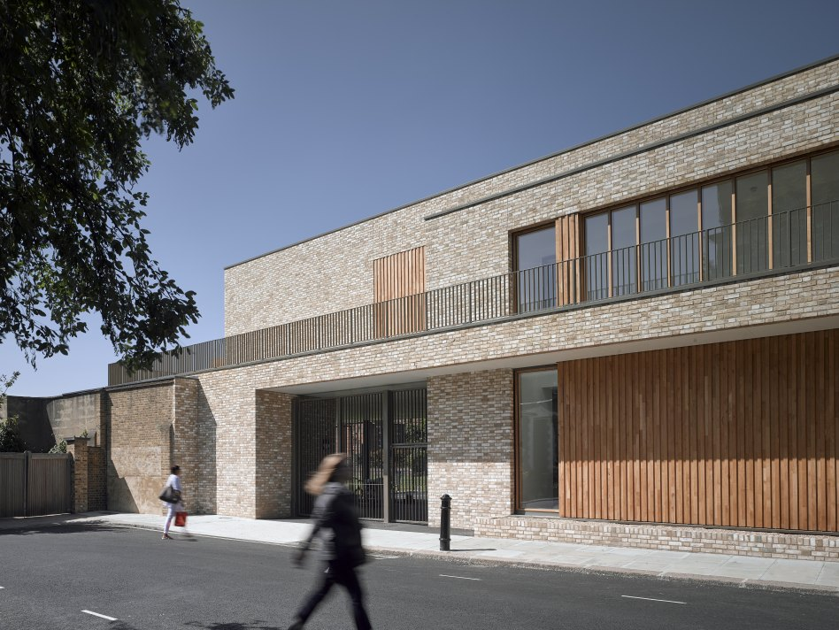 John McAslan + Partners. St Paul's Girls' School. New Building.