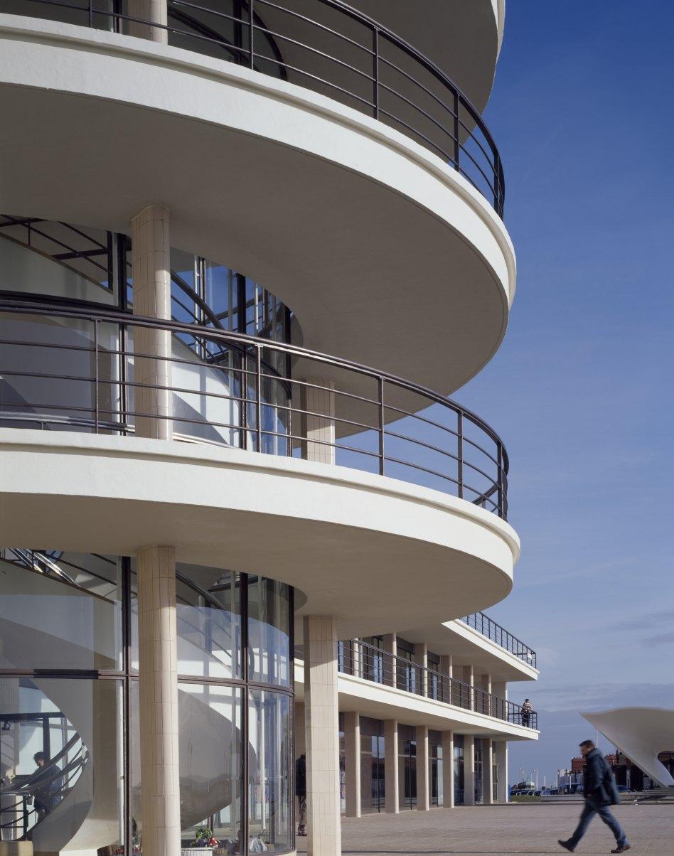 John McAslan + Partners. De La Warr Pavilion.Internal View.