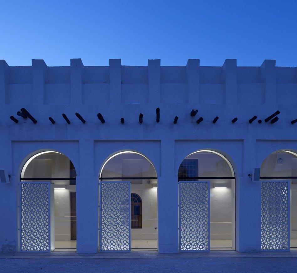 John McAslan + Partners. Msheireb Museums. Bin Jelmood House. Atrium.