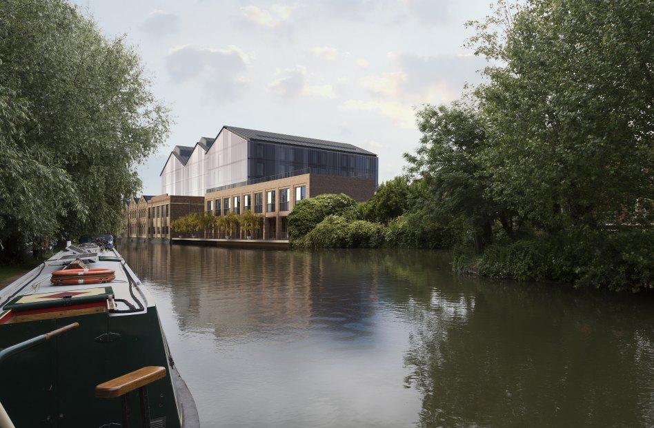 John McAslan + Partners. Saïd Business School. View from Canal.