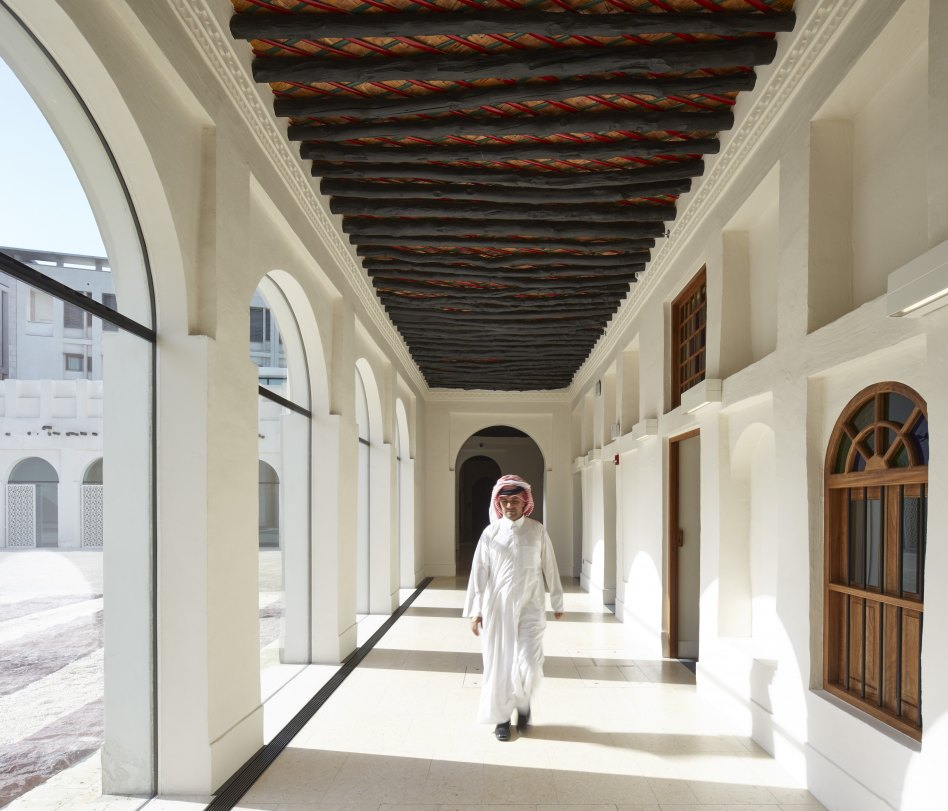 John McAslan + Partners. Msheireb Museums. Radwani House. Courtyard View.