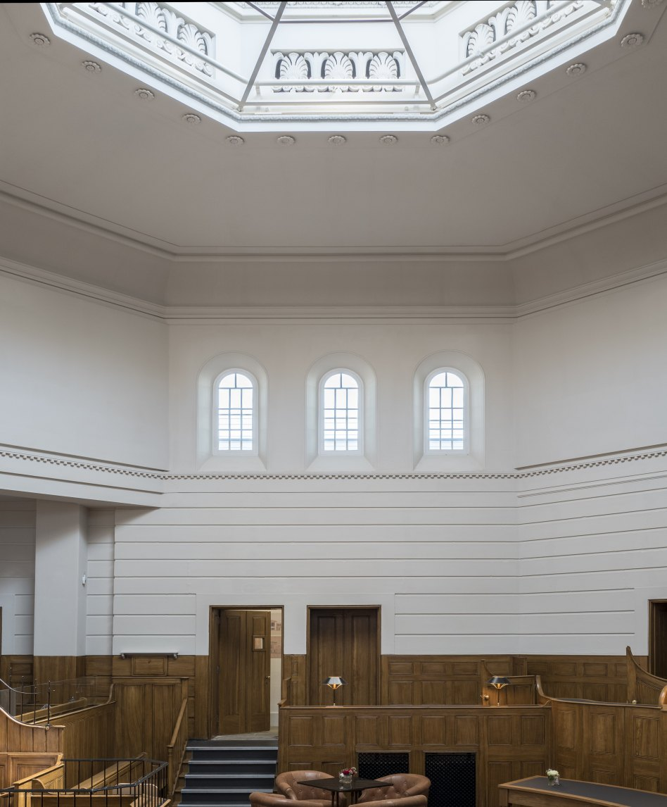 John McAslan + Partners. St Albans Museum and Gallery. Courtroom.