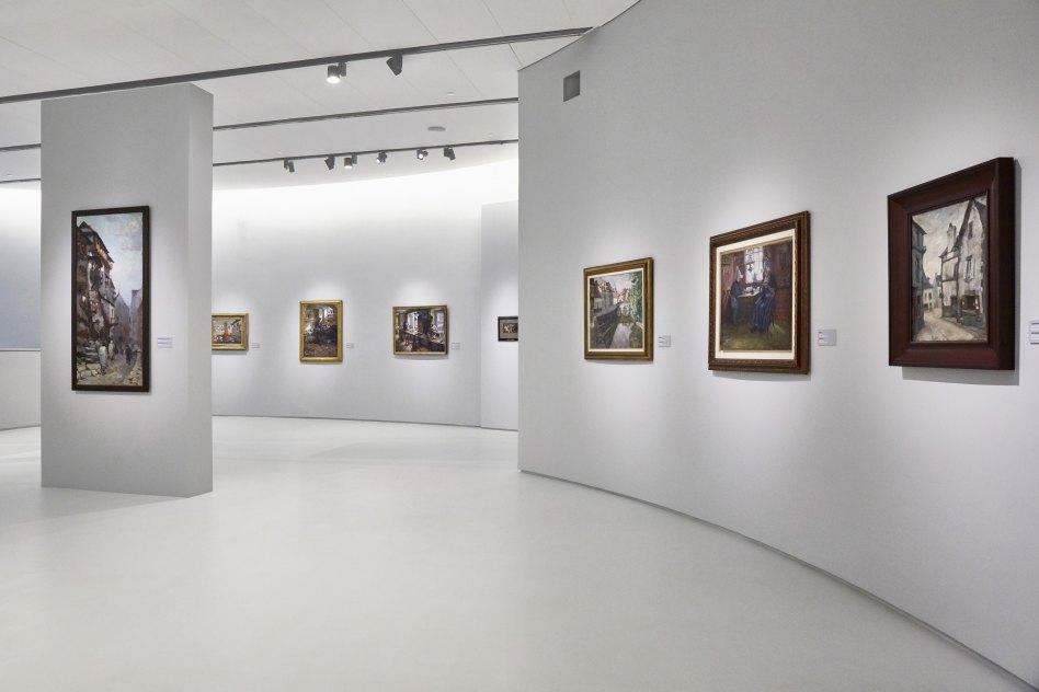John McAslan + Partners. Museum of Russian Impressionism. Interior.