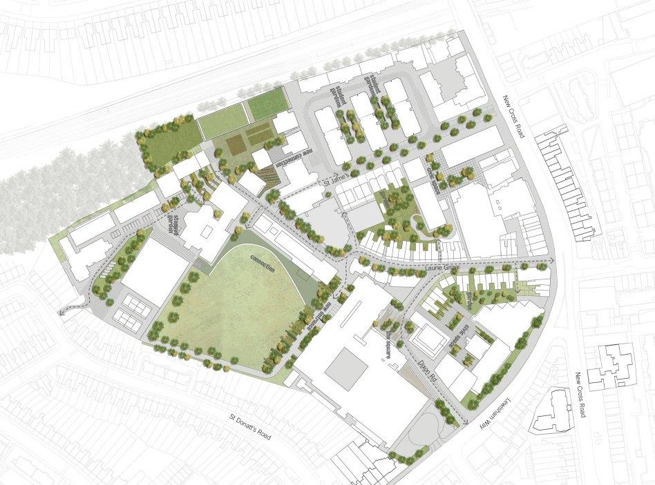 John McAslan + Partners. Goldsmiths College Masterplan. Plan.