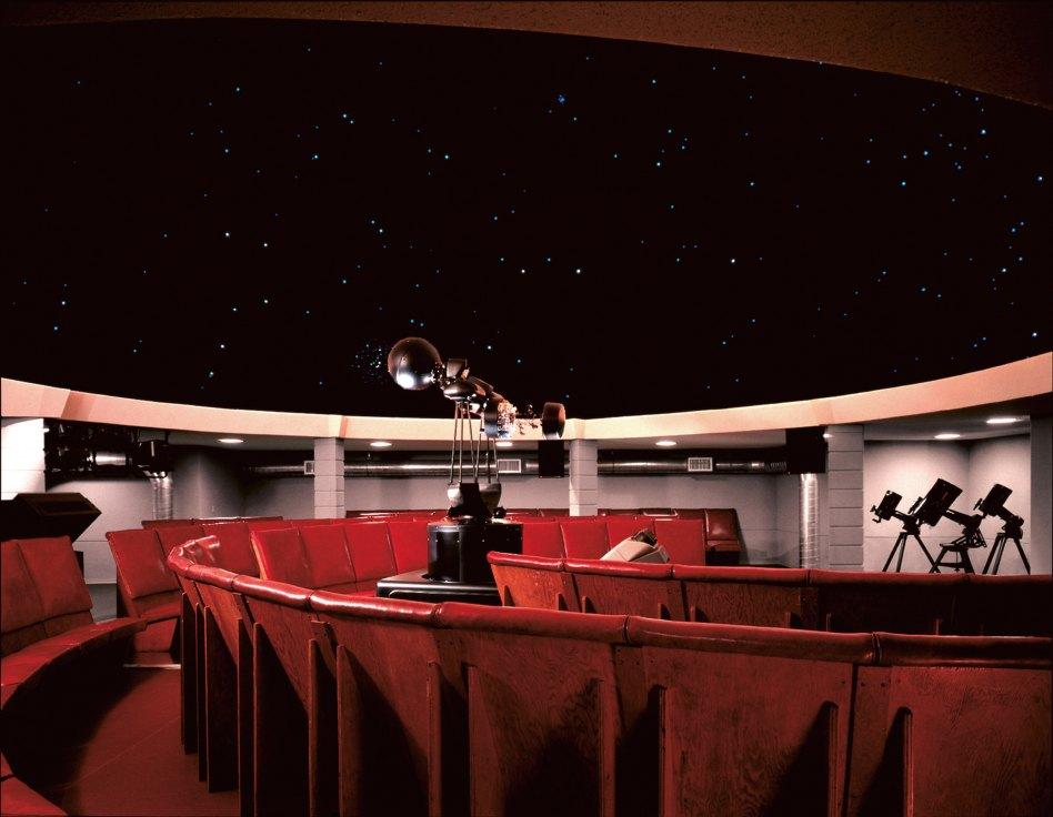 John McAslan + Partners. Florida Southern College. Polk County Science Building. Planetarium.