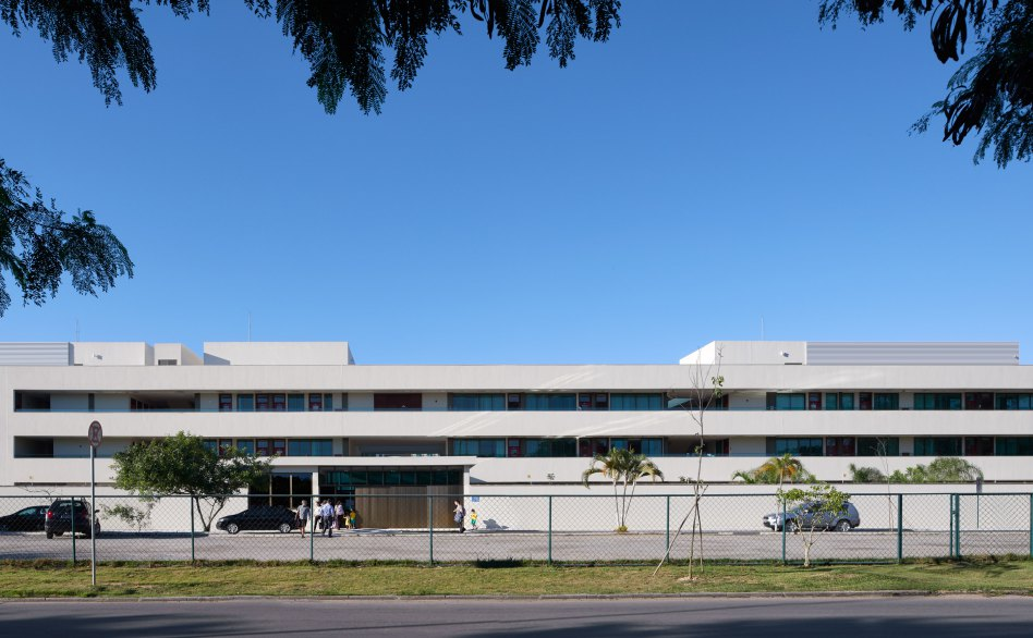 John McAslan + Partners. The British School, Rio. Exterior.
