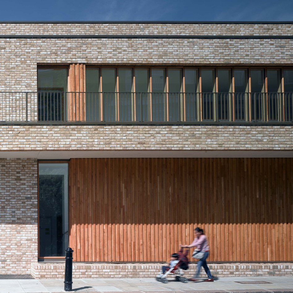 John McAslan + Partners. St Paul's Girls' School. Sports Pavilion.
