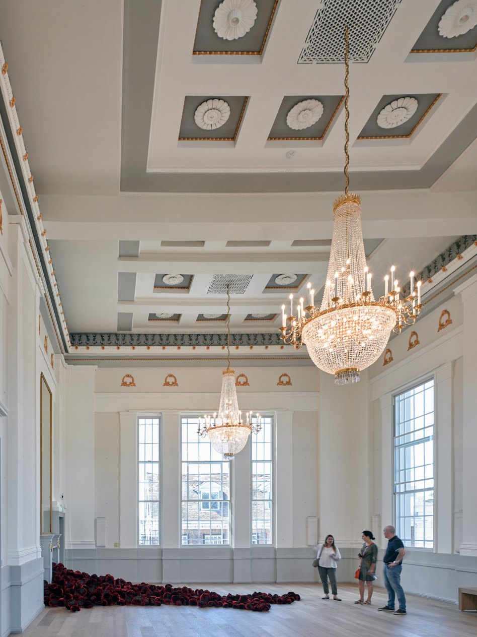 John McAslan + Partners. St Albans Museum and Gallery. Assembly Room.