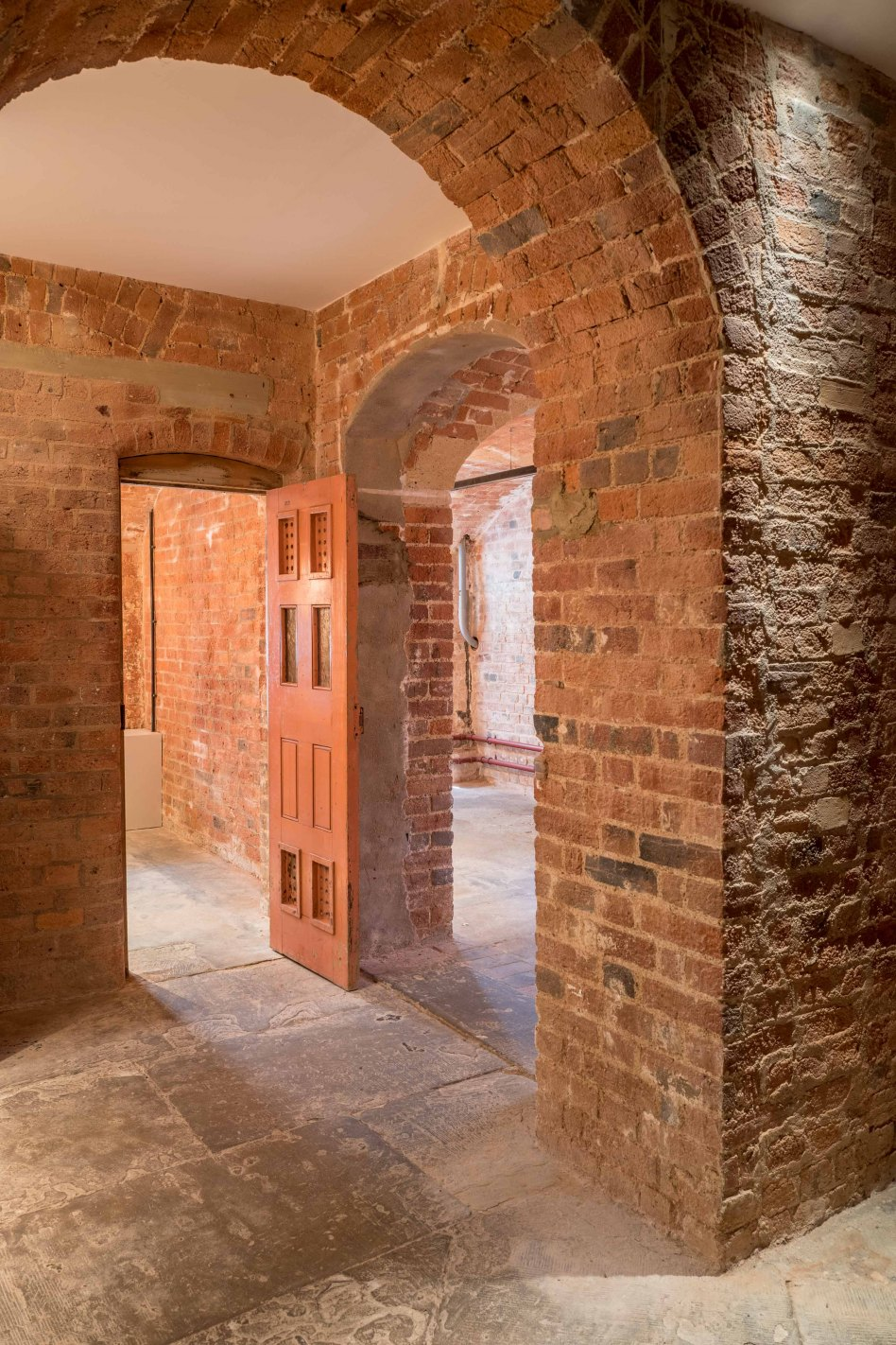 John McAslan + Partners. St Albans Museum and Gallery. Victorian Cells.